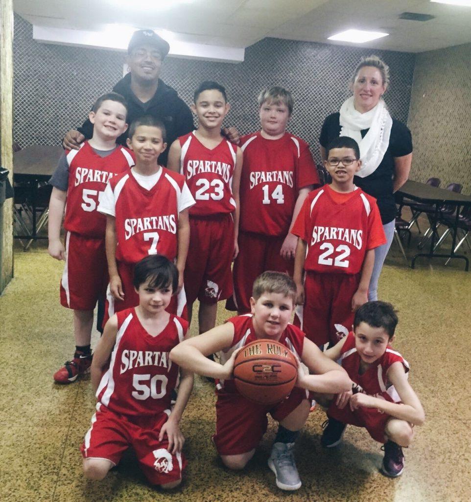 1st season of basketball