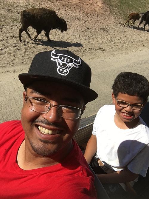 #FatherhoodIsLit Safari @ Great Adventures