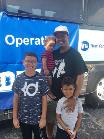 #FatherhoodIsLit MTA ROADEO