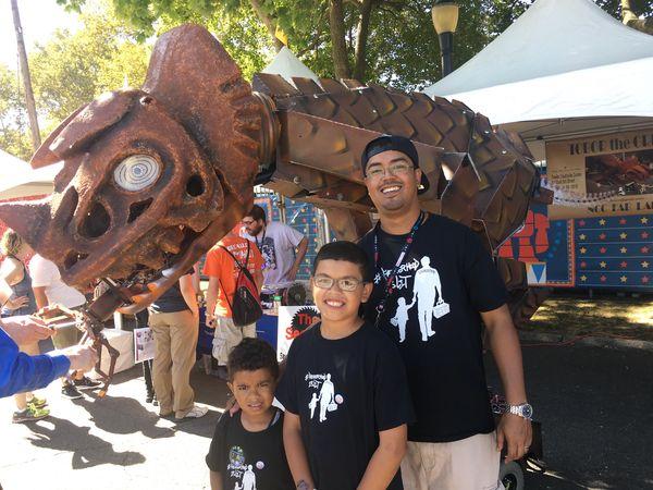 #FatherhoodIsLit x World Maker Faire