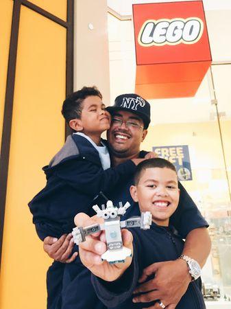 #Lego x #FatherhoodIsLit