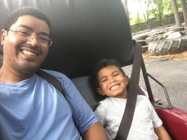 Camping The #FatherhoodIsLit Way