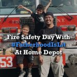 #fatherhoodislit x Fire Safety At Home Depot