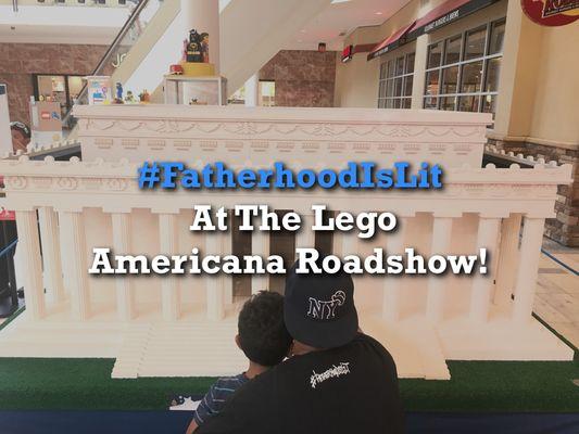 #FatherhoodIsLit x Lego Americana Roadshow