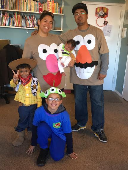 #FatherhoodIsLit x Halloween