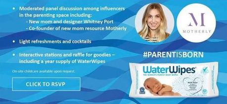 #FatherhoodIsLit #WaterWipes #ParentIsBorn