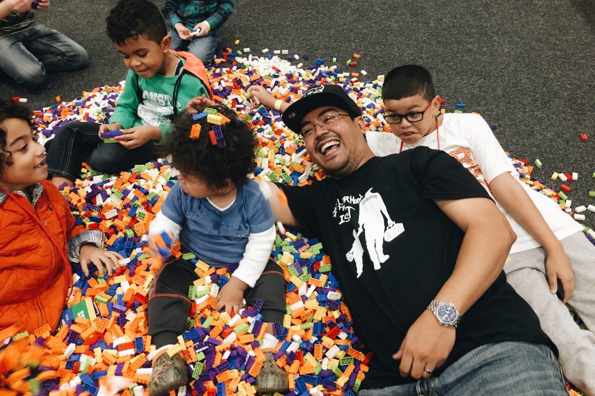 #FatherhoodIsLit #LegoLiveNYC