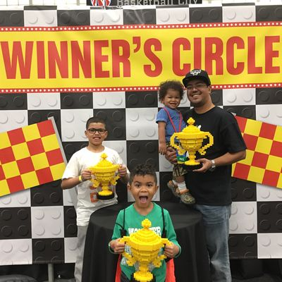 Lego Live NYC Winners circle
