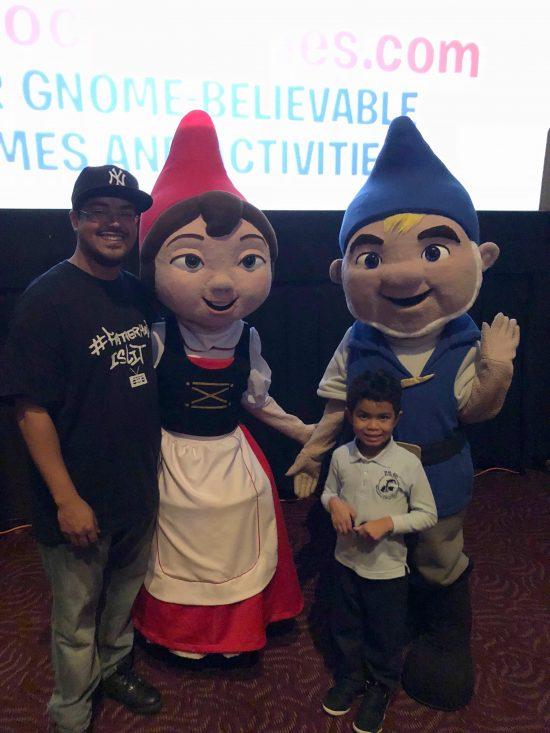 #FatherhoodIsLit x #SherlockGnomes