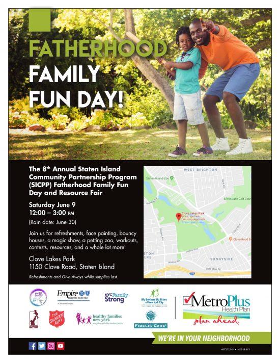 #FatherhoodIsLit SICPP Family Fun Day