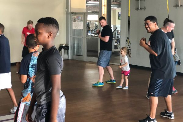 #FatherhoodIsLit Crunch Gym Dad Travels