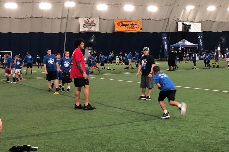 #FatherhoodIsLit Hyundai football camp