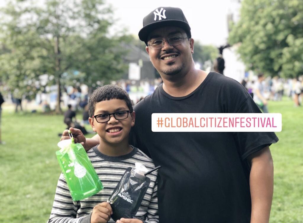 #GlobalCitizen #FatherhoodIsLit