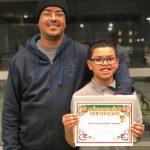 Student Of The Month #FatherhoodIsLit