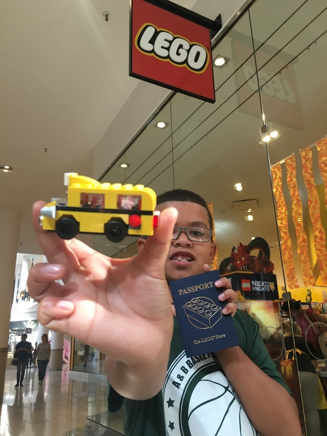 #FatherhoodIsLit Free Lego Store Event