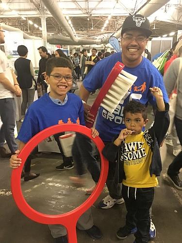 #FatherhoodIsLit #DadLife At The New York Baby Show