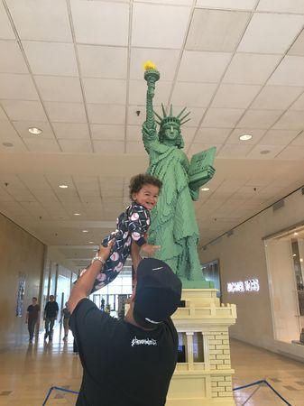 #FatherhoodIsLit Lego Americana Roadshow