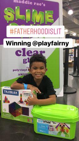 #FatherhoodIsLit @ #PlayFairNY