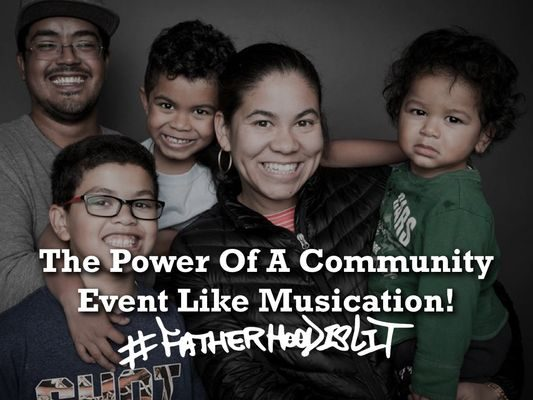 #FatherhoodIsLit At Musication5