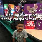 Surprise Party #FatherhoodIsLit