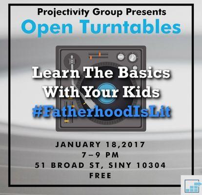 #FatherhoodIsLit Kids Learn How To Dj