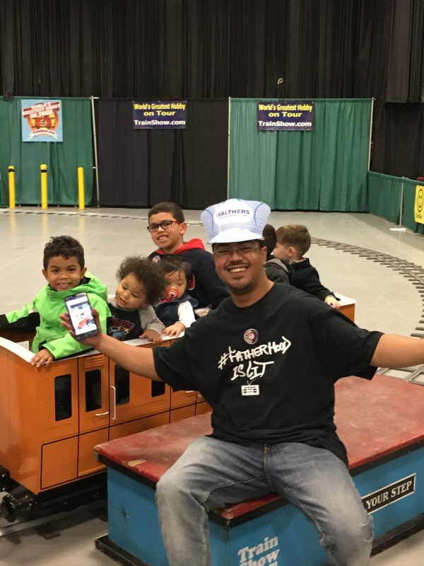 #FatherhoodIsLit World's Greatest Hobby On Tour Train Show