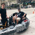 Lego Millennium Falcon Pedicab #FatherhoodIsLit