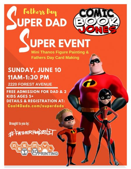 #FatherhoodIsLit #Cool4Dads Marvel