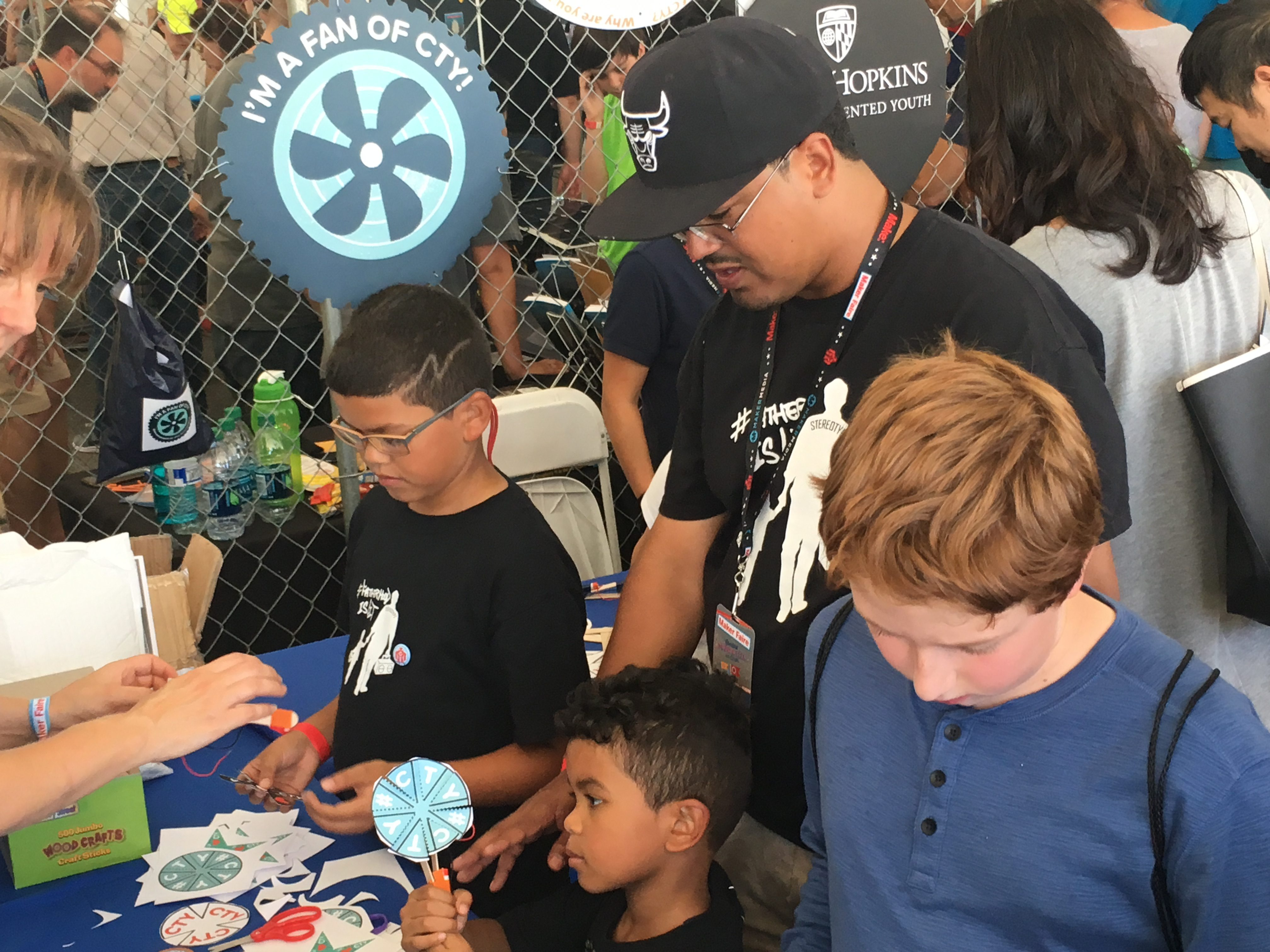 maker faire 2018 #FatherhoodIsLit