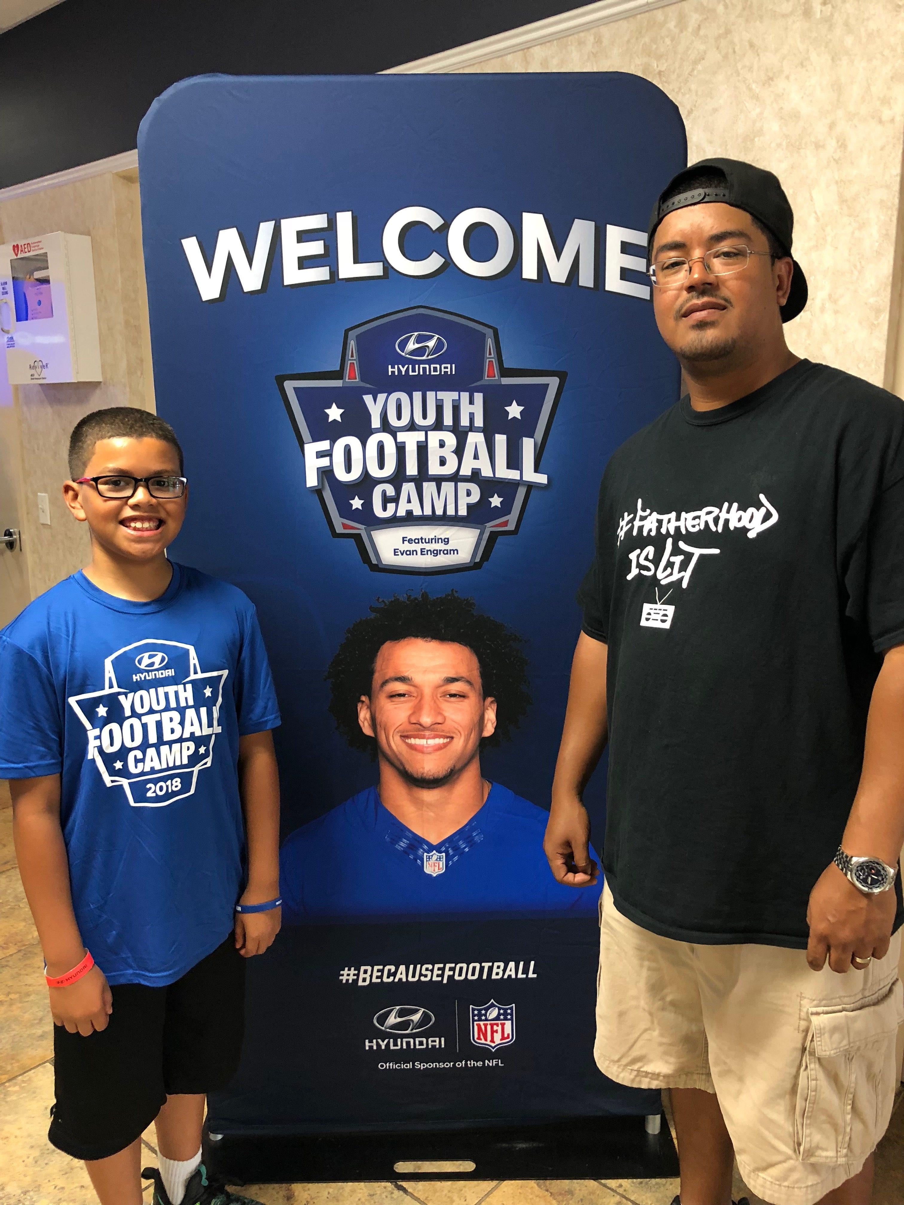 Introduce your kids to new sports #FatherhoodIsLit Hyundai Foot Ball Camp