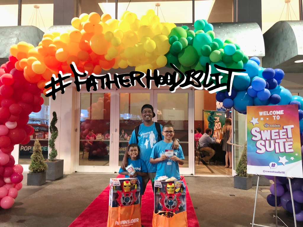 #SweetSuite18 #FatherhoodIsLit