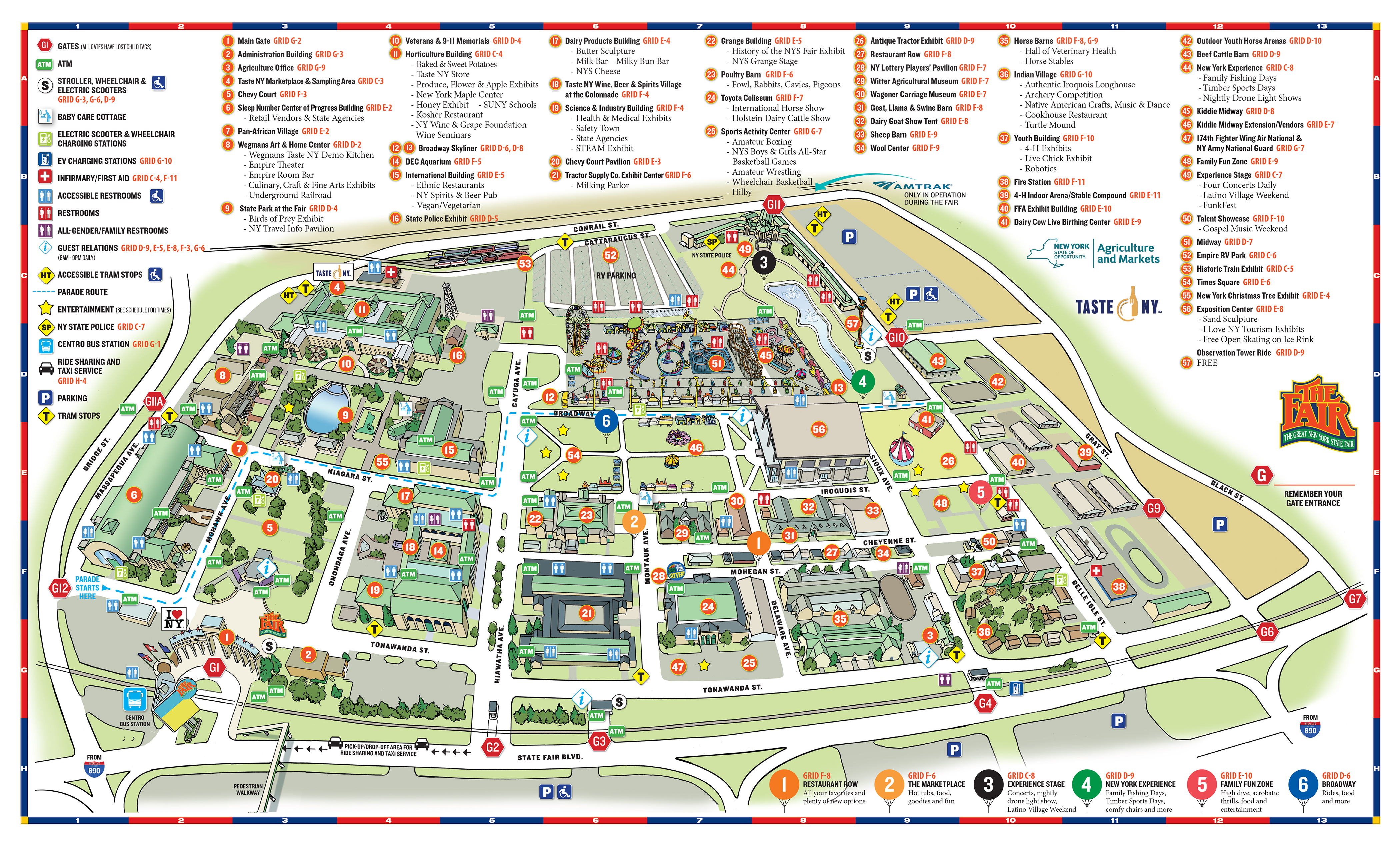 2018-New-York-State-Fair-Map - Cool4Dads on central new york map, new amsterdam 1660 map, new york interstate 84 map, new york route 20 ice cream, new york colony 1664, new york bus map, m60 route map, new york 1600s map, syracuse new york map,
