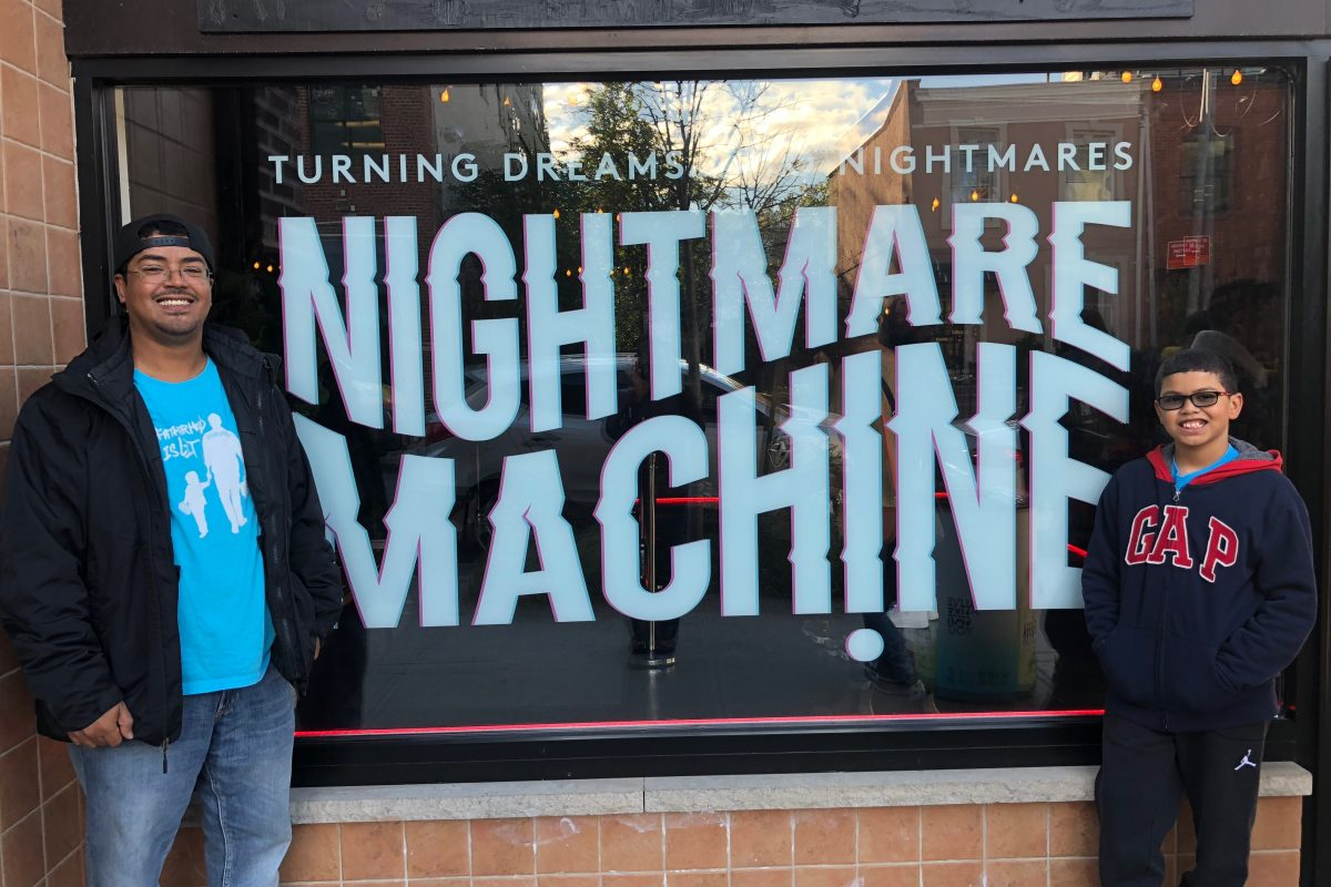 Nightmare Machine #FatherhoodIsLit