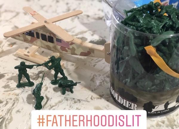 Less broken promises #FatherhoodIsLit
