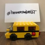 #FatherhoodIsLit School Bus