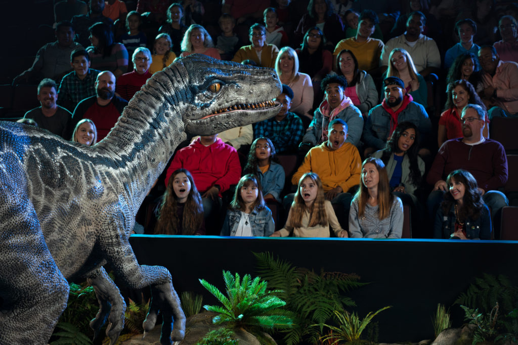 #FatherhoodIsLit Jurassic World Live Tour 2
