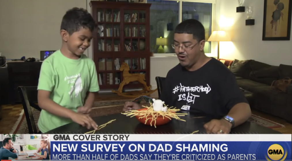 Dad Shaming Good Morning America Fatherhood Is Lit #FatherhoodIsLit