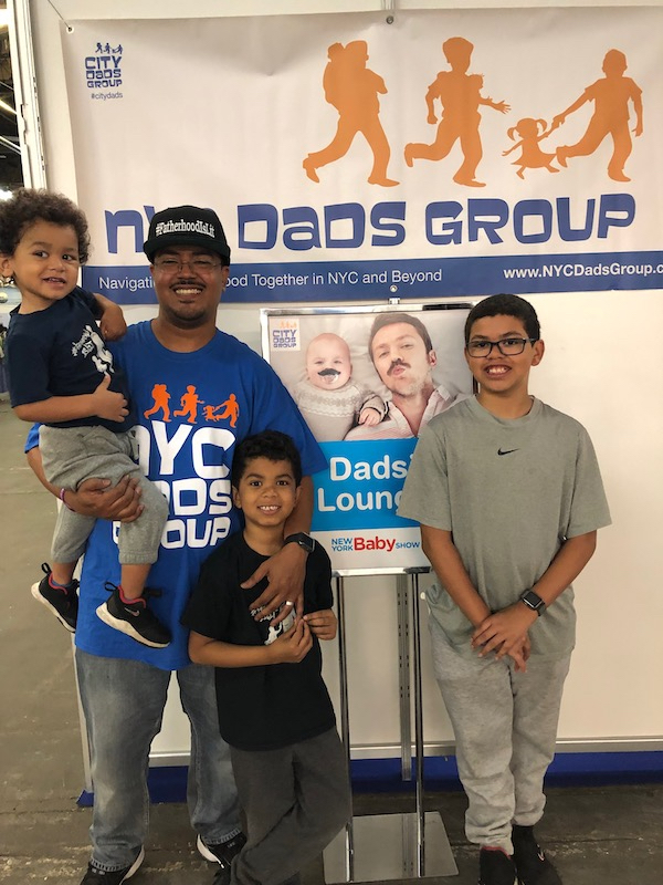 baby show with the nyc dads group fatherhood is lit