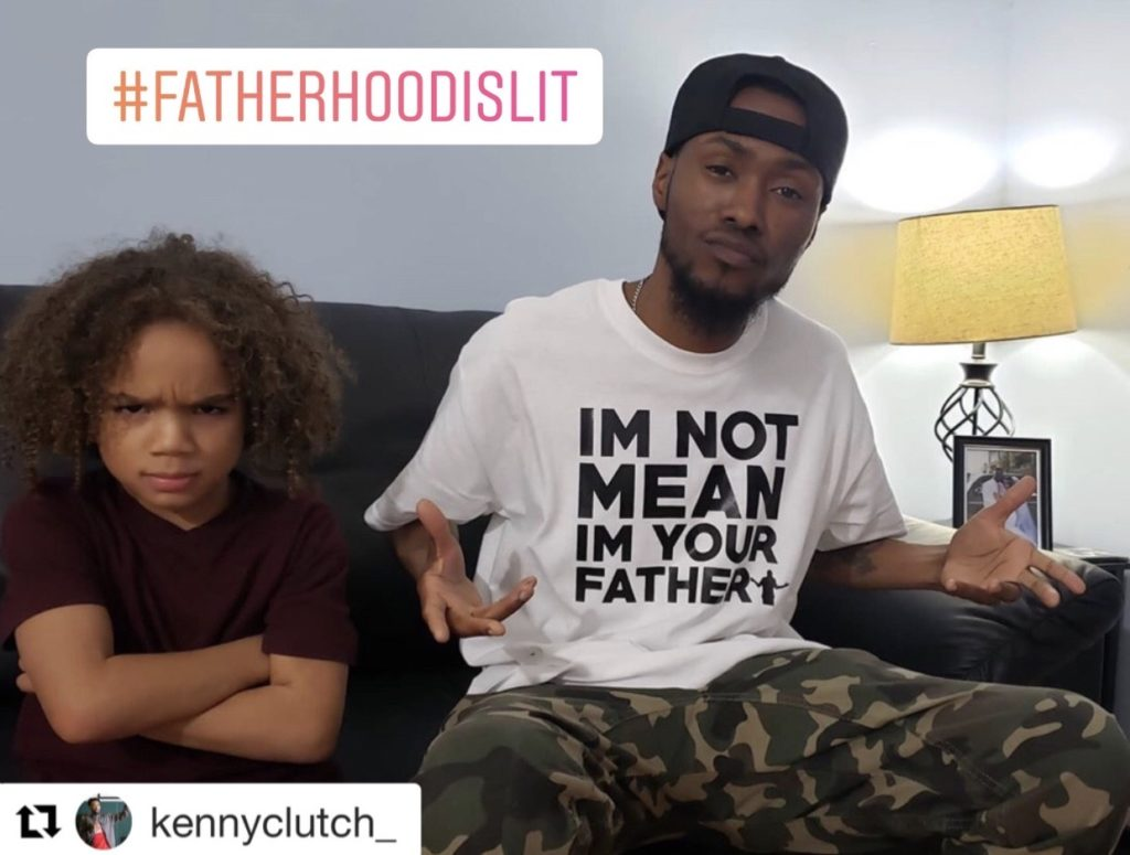 staying strong with kenny thomas, fatherhood is lit