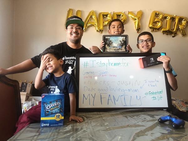 #fatherhoodislit home hacks