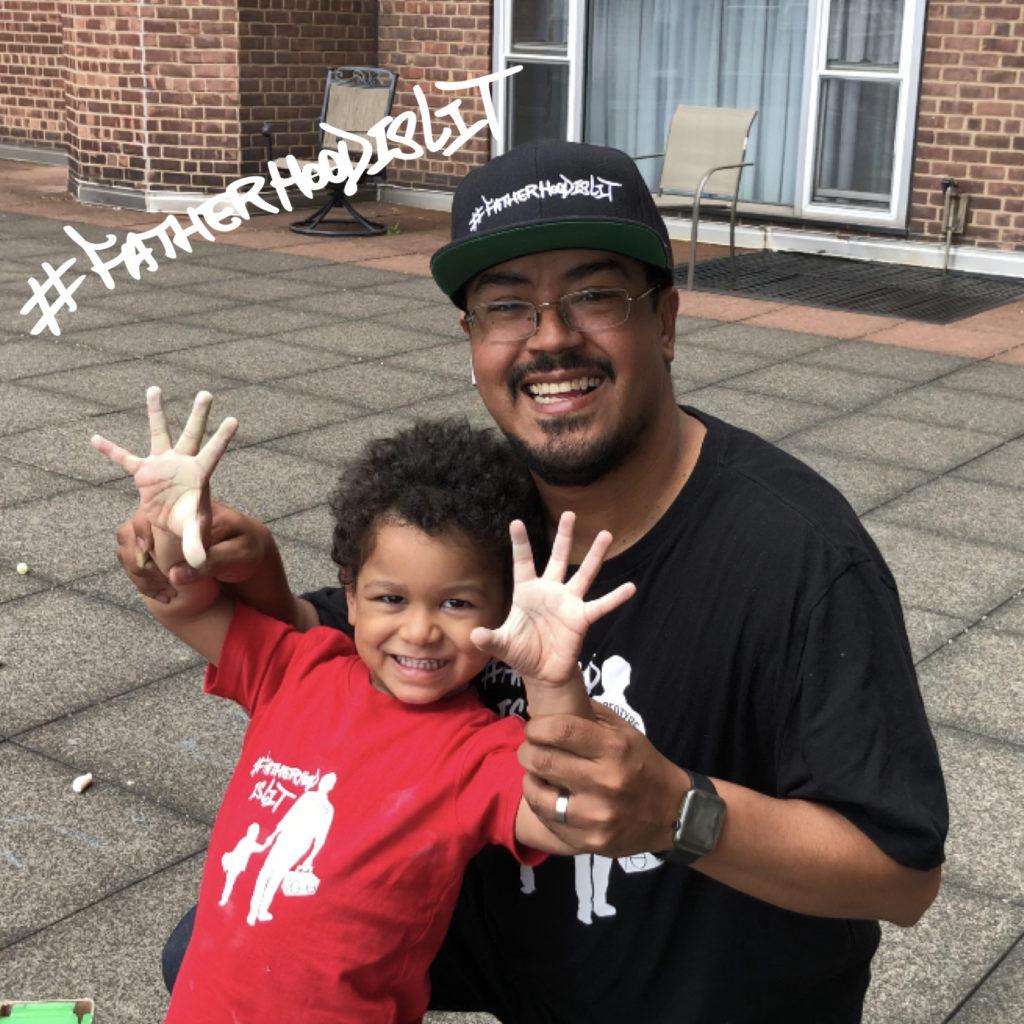 #fatherhoodislit dove men + care