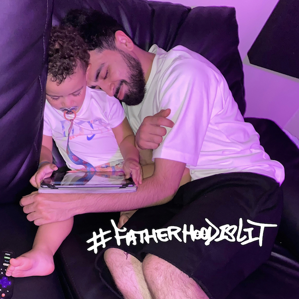 new dad smell with adam said fatherhood is lit #fatherhoodislit