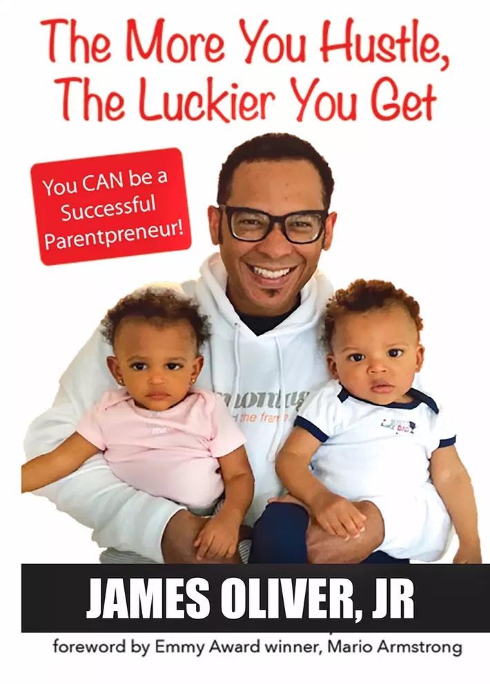 business dad james oliver fatherhood is lit