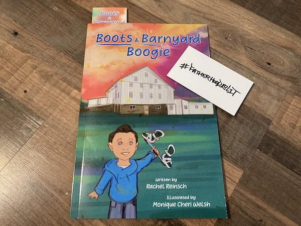 Boots & Barnyard Boogie a dope book about Clubfoot #FatherhoodIsLit