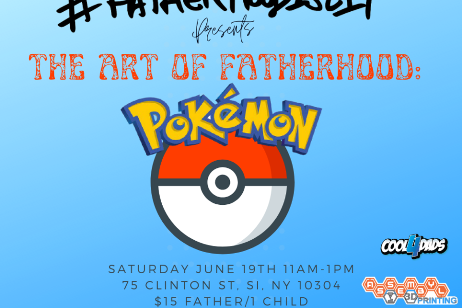 pokemon dad #FatherhoodIsLit