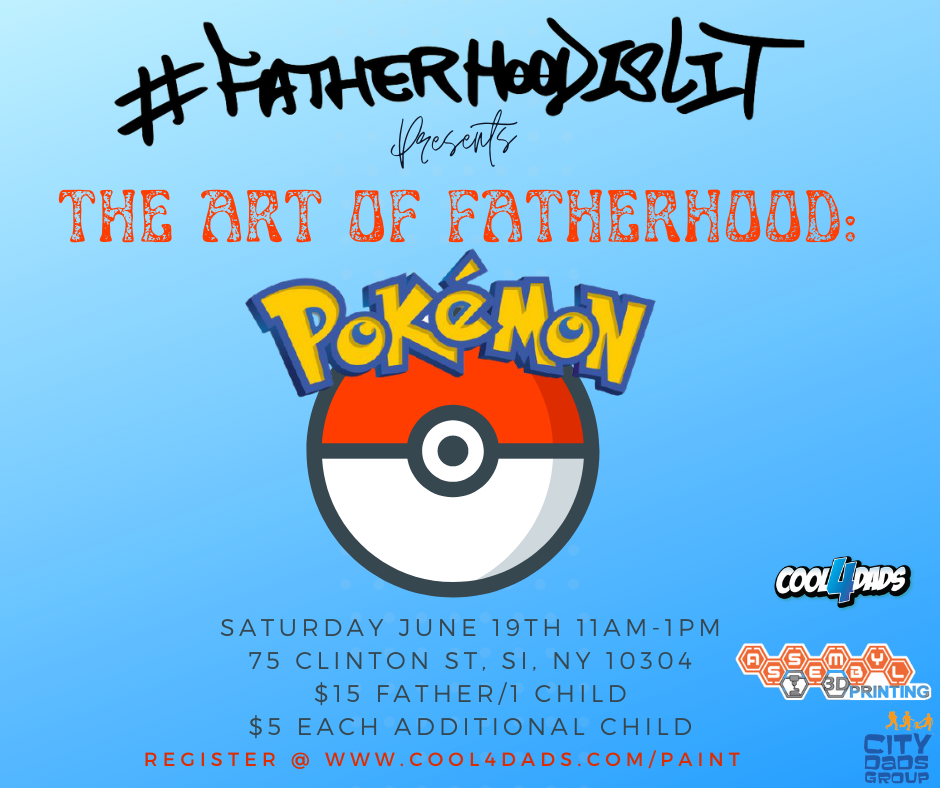 Pokemon with dad #FatherhoodIsLit