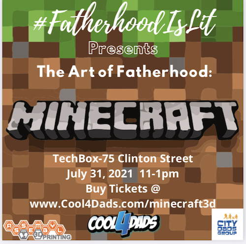 minecraft 3d with fathers